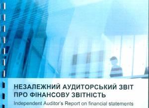 Незалежний аудиторський звіт про фінансову звітність за 2018 р.